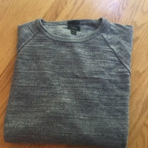 New without Tags.  JCrew sweater, grey, slim cut